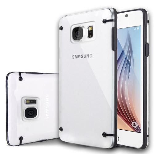 Samsung Galaxy S5 Ultra Thin TPU Bumper Matte Hard Case- Black