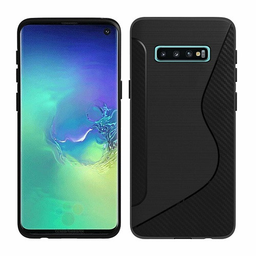 Samsung Galaxy S6 Edge  Black Hybrid Shockproof  Bumper case