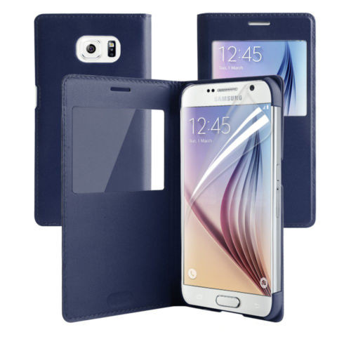Samsung Galaxy S6 Edge Plus Window View Case Cover