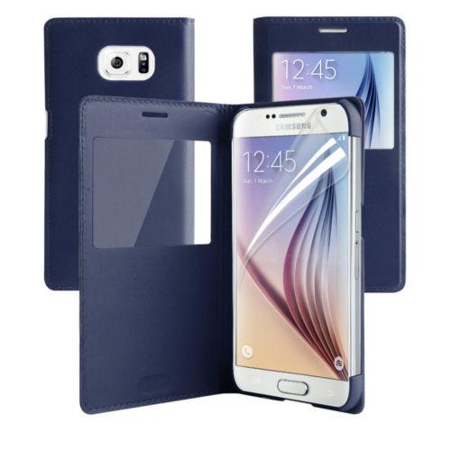Samsung Galaxy S6 Edge Window View Case Cover