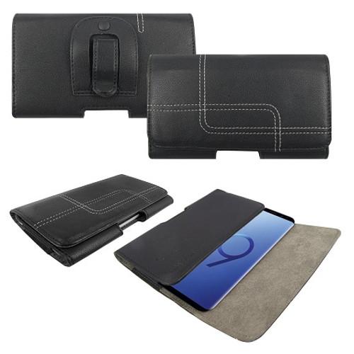 Samsung Galaxy S6 Genuine Leather Belt Clip Holster Flip Case