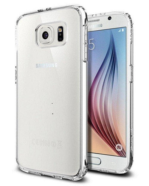 Samsung Galaxy S6 Spigen Crystal Clear  Air Cushion Bumper Case