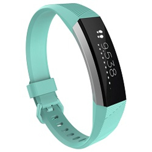 Small FitBit Alta Replacement Strap with Metal Clasp-Mint