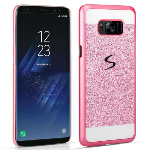 Samsung Galaxy S8 Plus Flash Diamond Case - Pink