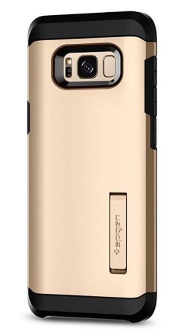 Samsung Galaxy S8 Plus Gold Maple Tough Armor Cover