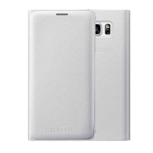 Samsung Galaxy S8 Plus Leather Wallet Card Holder Cover - White