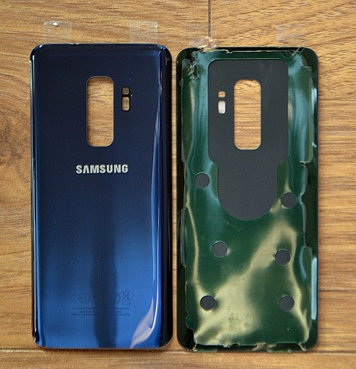 Samsung Galaxy S9  Back Glass Housing Replacment Coral blue Cover