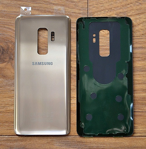 Samsung Galaxy S9  Back Glass Housing Replacment Gold Cover