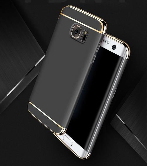 Samsung Galaxy S9 Luxury Ultra Slim Shockproof Bumper Case Black