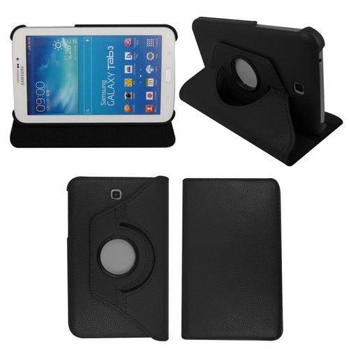 Samsung Galaxy Tab 3 7.0 P3200 P3210 SM-T210 Leather Smart Case Cover+Stylus