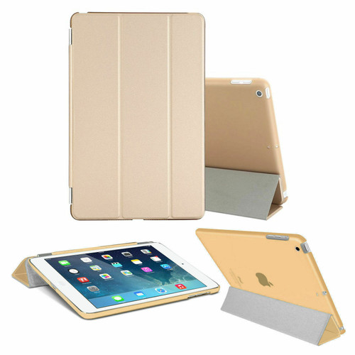 Smart Magnetic Leather Stand Case Gold Cover For Apple iPad Pro 9.7 Released 2016