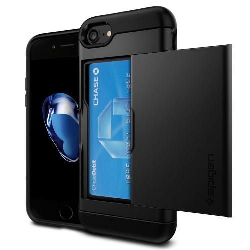Spigen Black iPhone 7 Slim Armor CS Series Cases