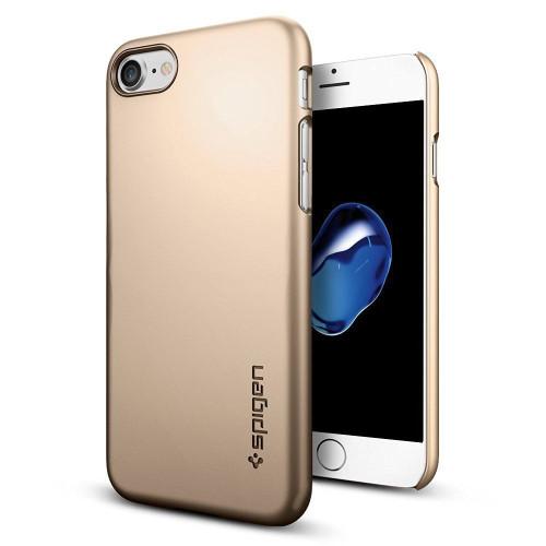 Spigen iPhone 7 Thin Fit Series Cases Gold