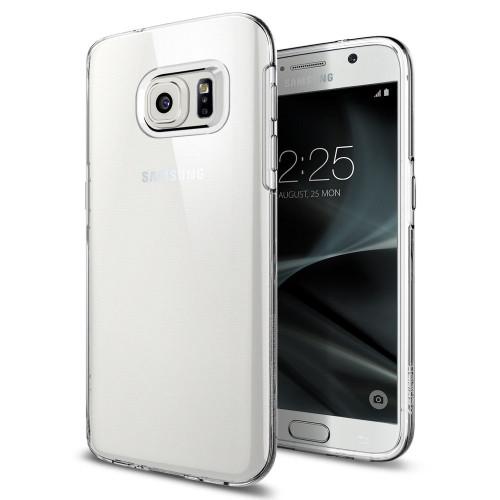 Spigen Samsung Galaxy S7 Case Liquid Crystal  Clear