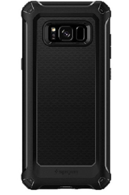 Spigen Samsung Galaxy S8  Plus Rugged Armor Extra Cover - Black