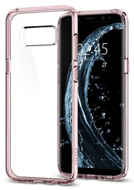 Spigen Samsung Galaxy S8 Plus Ultra Hybrid Crystal Pink Case