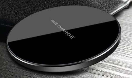 Tempered Glass Mirror Fast QI Wireless Charger Pad Mat Dock For iPhone and  Qi Enabled  devices