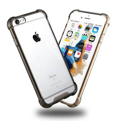 Transparent Clear Black Hard Back Case for Apple Iphone 8 Plus