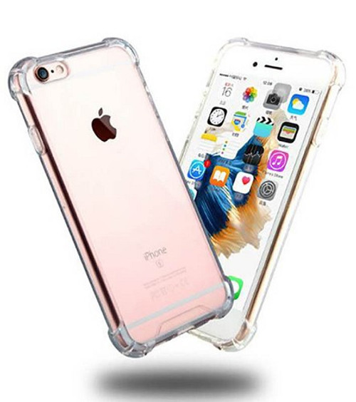 Transparent Clear Hard Back Case for Apple Iphone 8 Plus