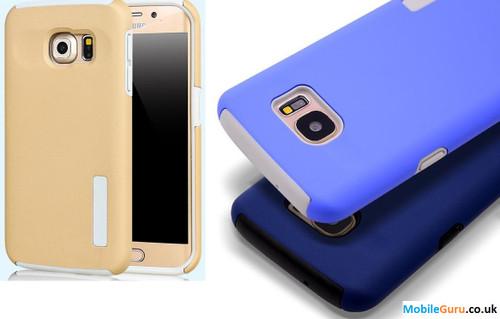 Ultra thin Soft TPU Luxury Phone Case for Samsung Galaxy S6 Edge Plus - White