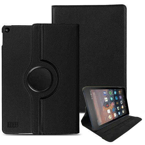 Amazon kindle Fire HD 8 (2018) Magnetic Smart Leather Case