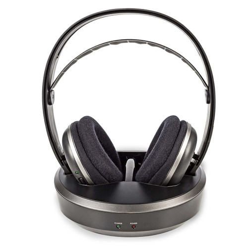 Wireless Headphones | Radio Frequency (RF) | Over-ear | Charging Base | Black / Silver