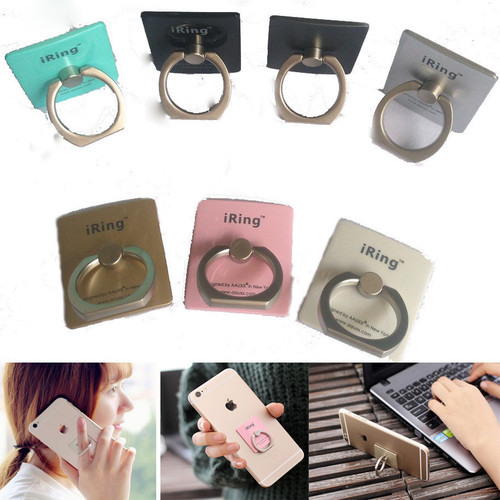 Iphone 6S iRing Finger Grip Rotating Ring Stand Holder