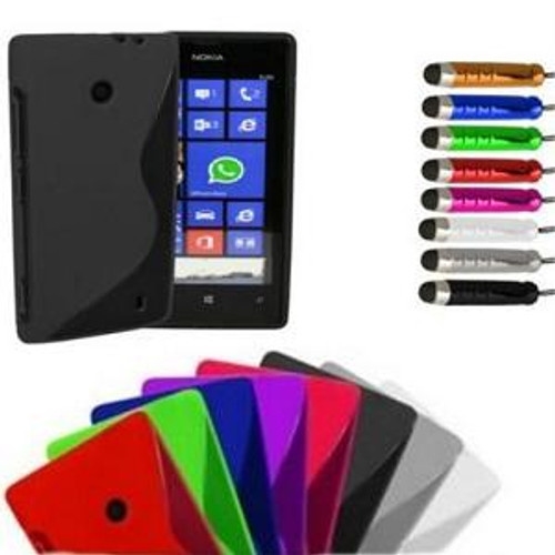 Nokia Mobile Phone Grip S-Line Wave Silicone Gel Case Covers