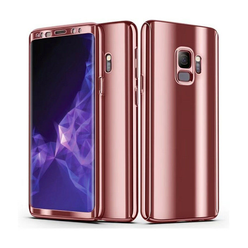 Samsung Galaxy Note 9 Rose Gold 360 Shockproof Full Body Hard Case