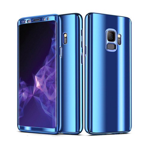 Samsung Galaxy Note 9 Blue 360 Shockproof Full Body Hard Case