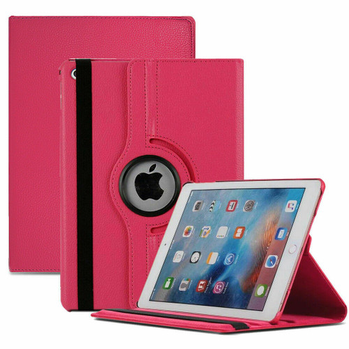 Apple iPad Pro 10.5(2017) 360 Rotating Pink Stand Leather Case