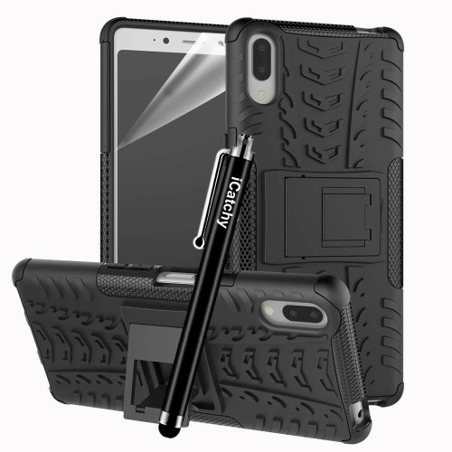 Sony Xperia L3 Hybrid Shockproof Rugged Armor Stand Case