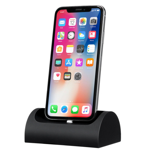 Desktop Charging Stand Dock Station Cradle Charger for iPhone 6S 7 8 Plus X XS