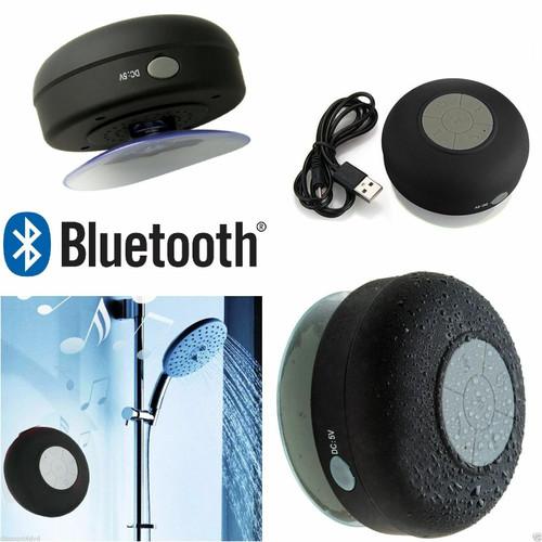 Speaker WireWaterprless Bluetooth FM Radio  Car/ Bathroom/ Shower
