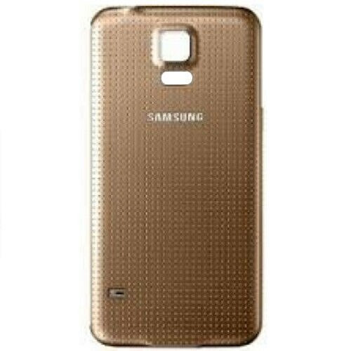 Samsung Galaxy S5 Replacement  Gold Housin  Battery Back Cover