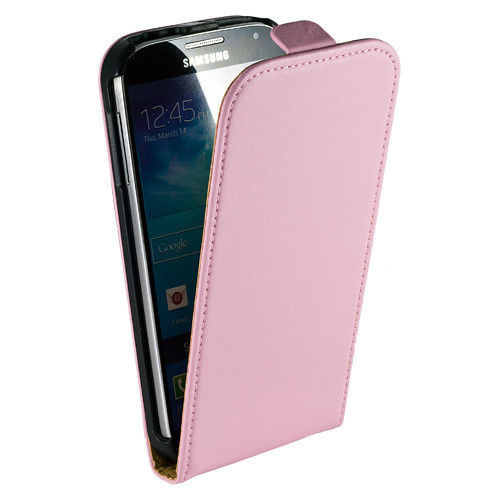 Samsung Galaxy S5 MINI G800F Genuine Real Leather Pink Case
