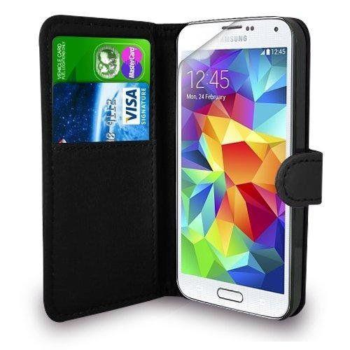 Samsung Galaxy S5 MINI Black wallet case