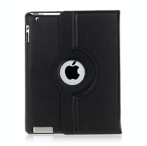 Amazon Kindle Fire HDX 8.9 360 Rotating Leather Black Case