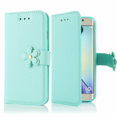 Samsung Galaxy Luxury Magnetic Stand PU Leather Flip Mint Case