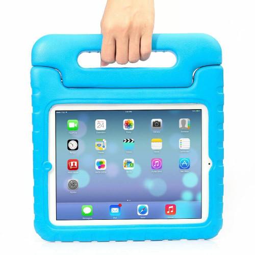 iPad  9.7(2018)Kids Shockproof   EVA Foam Stand Blue case