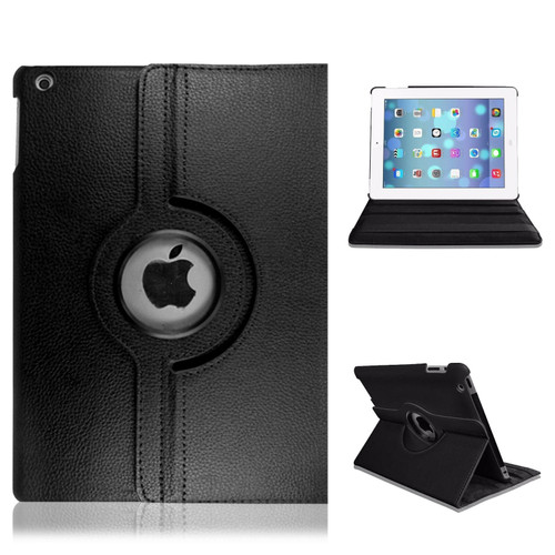 iPad  9.7(2018) Black Smart Stand Leather Magnetic Case