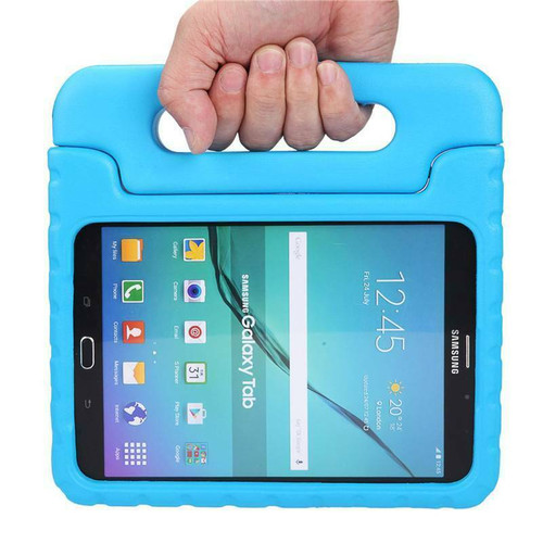 Samsung Tab 4 10.1 T530 T535 Blue Kids Shock Proof EVA Foam Handle Cover