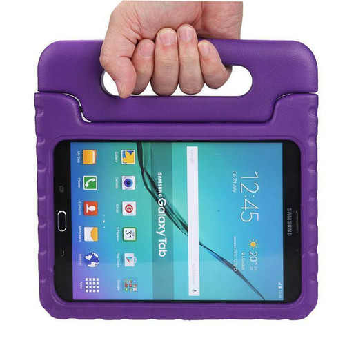 Samsung Tab 4 10.1 T530 T535 Purple Kids Shock Proof EVA Foam Handle Cover