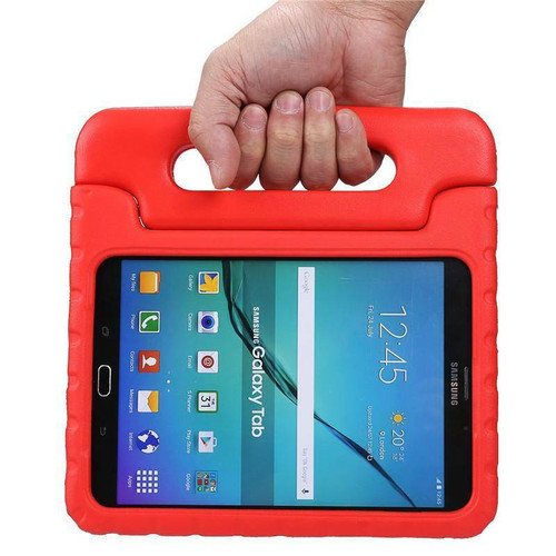 Samsung Tab 4 10.1 T530 T535 Red Kids Shock Proof EVA Foam Handle Cover