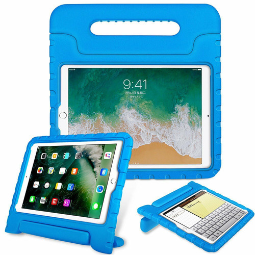 Apple iPad Pro 10.(2017) Blue TOUGH KIDS Shockproof EVA Foam Stand Case