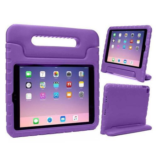 Samsung Galaxy Tab S 10.5 (T800/T801/T805) Purple Shockproof EVA Foam Stand Case Grip Handle Cover