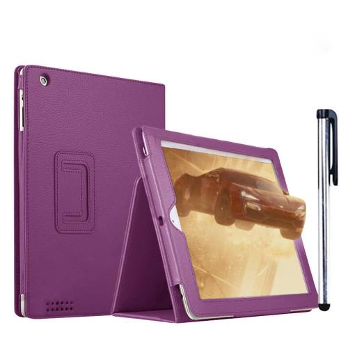 Apple iPad Pro 9.7 2018 Slim Smart  Purple Cover