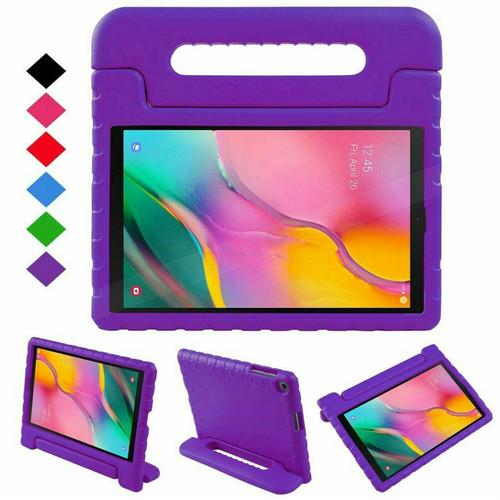 Samsung Galaxy Tab A 8.0 2019 T290 T295 KIDS EVA Shockproof Handle Purple Cover