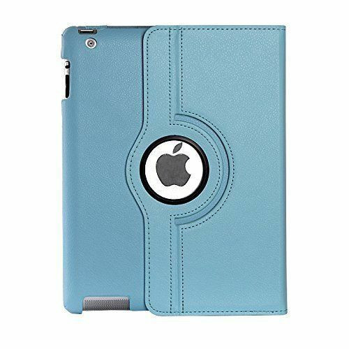 Apple ipad Mini 5 2019 360 Rotating & Protection Magnetic Stand  Sky Blue Case