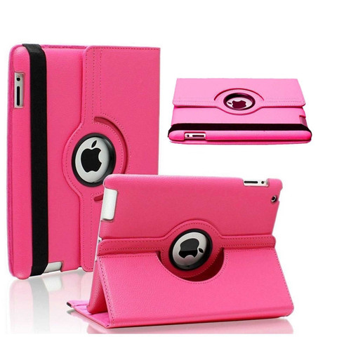 Apple ipad Mini 5 2019 360 Rotating & Protection Magnetic Stand  Pink Case